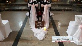 Dekoracja kościoła -HYMN O MIŁOSCI