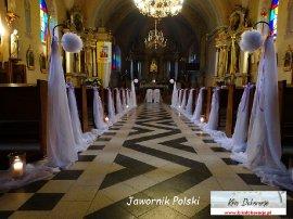 dekoracja Kościoła Jawornik Polski