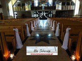 Dekoracja kościoła w Jodłowej