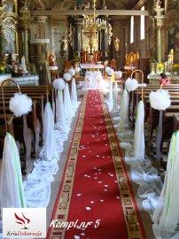 Dekoracja kościoła w Sławęcinie