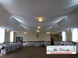 dekoracja sali Wola Dębowiecka