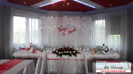 Dekoracja restauracji Panorama Zalasowa