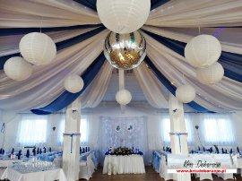 Dekoracja sal weselnych Jasło