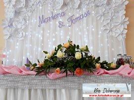 dekoracja sali w Bierówce