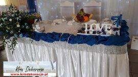 Dekoracja sali weselnej Jasło