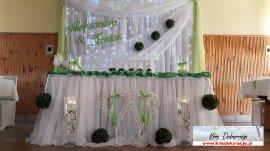 Dekoracje sal weselnych Gorlice